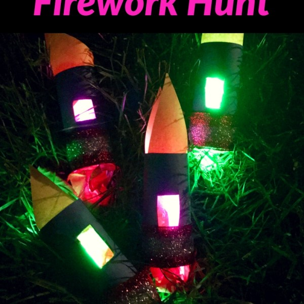 How To Make A DIY Glow-in-the-Dark Firew...