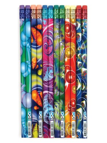 School Supplies for Tweens and Teens ddes Cyber Cyclone Pencil Assortment