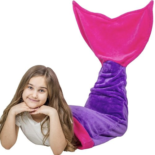 Mermaid Tail Blanket | Awesome Gift Ideas For An 11 Year Old Girl