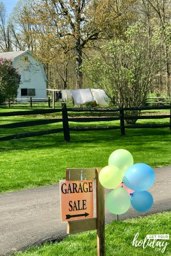 Have you ever been to an Amish garage sale? I can't believe all the cool things you can find and for really cheap!