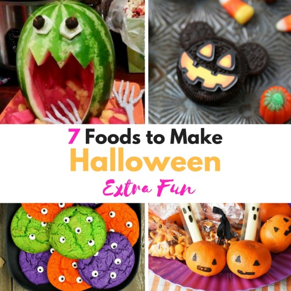 7 Foods to Make Halloween Extra Fun