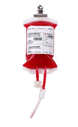 Adult Halloween Party Game Prize ideas. Wow! Could you imagine your guest's face when they get to drink out of this Blood Bag. Great fun for a Zombie or Spooky party!