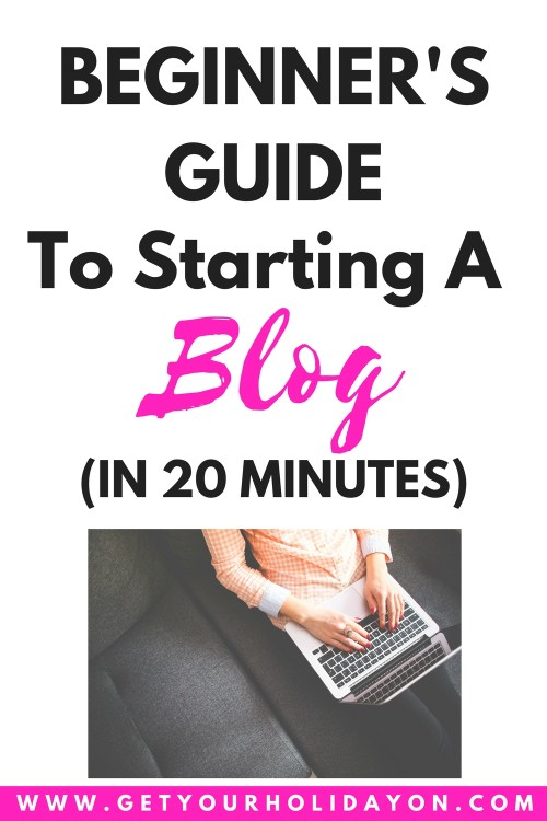 Beginner's Guide To Starting A Blog #blogging #blogger #affiliate #workfromhome
