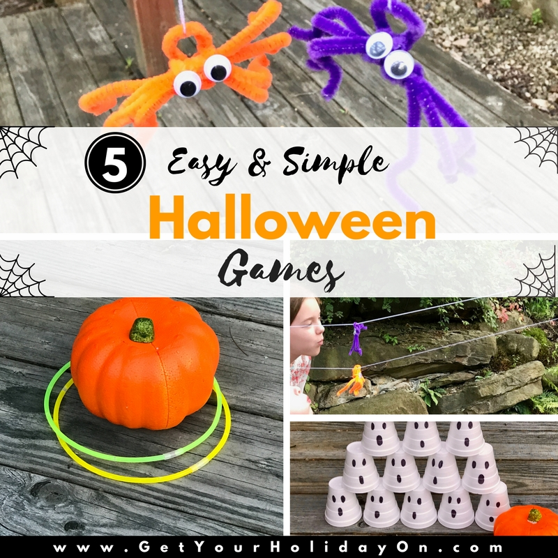 5 Easy \u0026 Simple Halloween Games