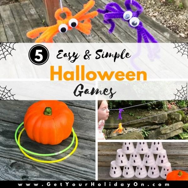 5 Easy & Simple Halloween Games