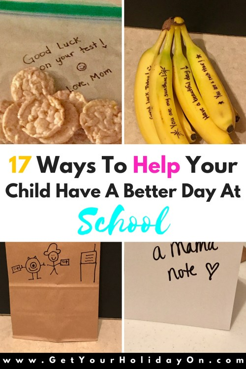 17 Ways To Help Your Child Have A Better Day At School Today Is your child having challenges at school that is preventing them from wanting to go to school? Maybe lunch time is difficult for them to get through? If your child is facing issues at school or you are in need of finding ways to help your child have a better day at school, look no further!