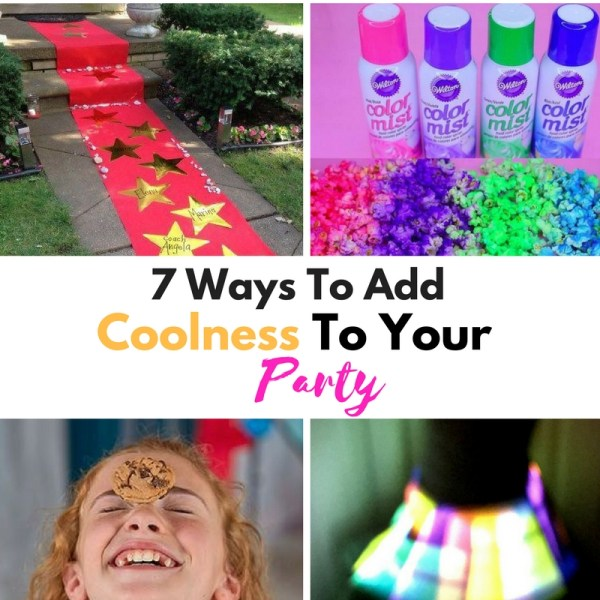 7 Ways To Add Coolness To Your Party