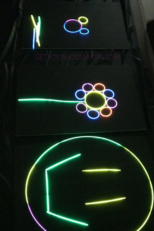 7 Ways To Add Coolness To Your Party Light Up Glow in the dark art
