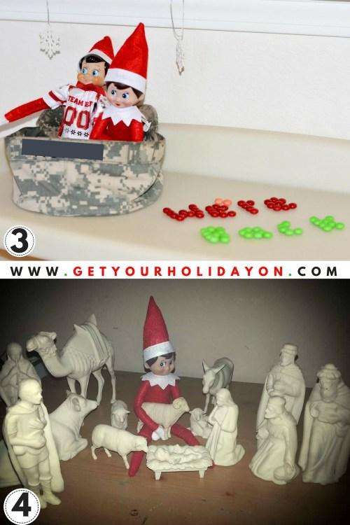 Ideas for when the elves return this holiday season. #wereback #elfontheshelf