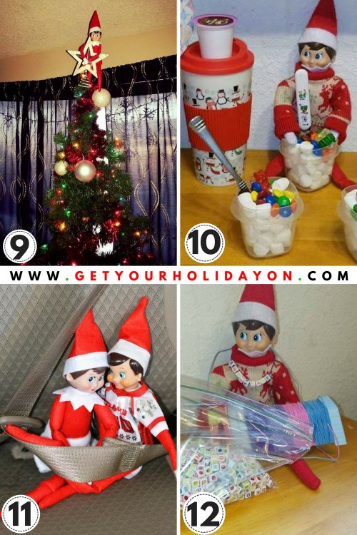15 Elf on a Shelf ideas for kids and adults!