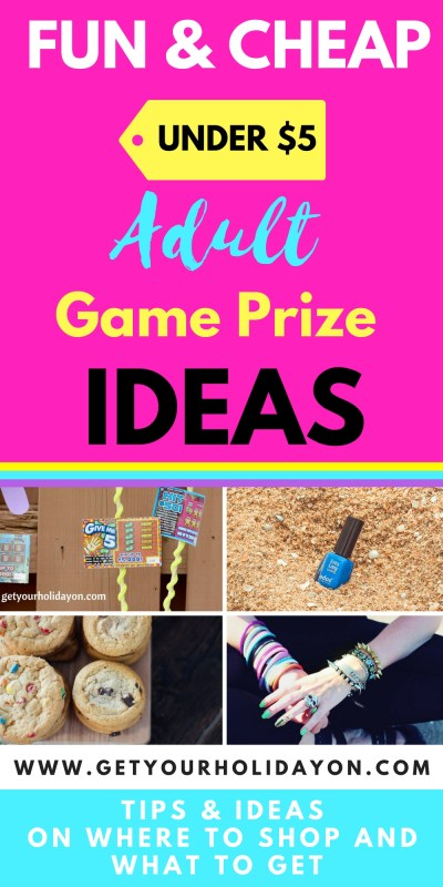 Fun and Cheap Game Prizes For Adults| Genius Ideas For Under $5