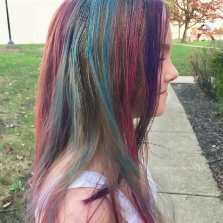 How To Make Unicorn Hair For Spirit Week  Get Your Holiday On