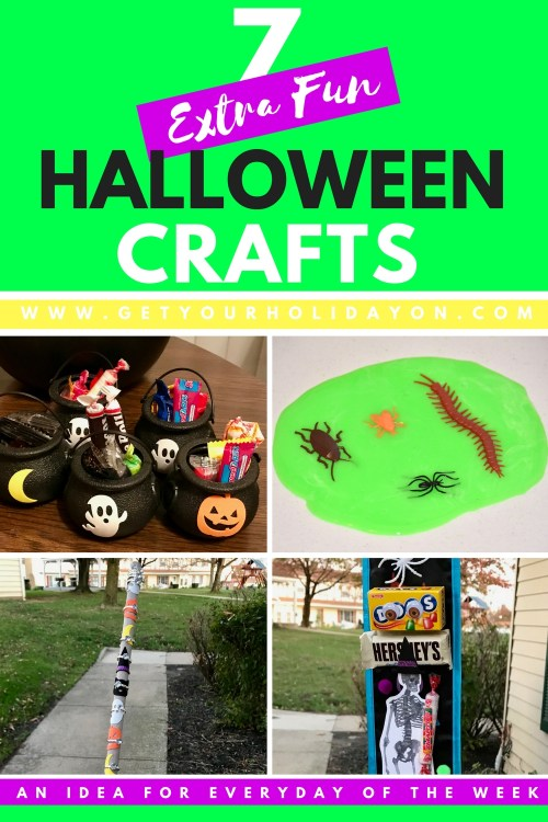 7 Extra Fun Halloween Crafts | Perfect for Kids