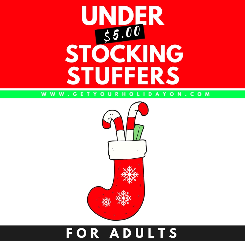 Christmas Stocking Stuffers For Adults All Ideas Under 5