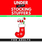 Christmas Stocking Stuffers For Adults | Under $5