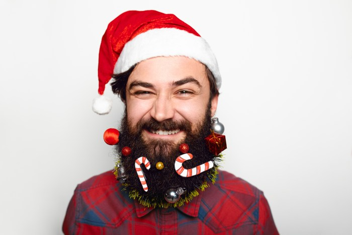How To Make Your Beard Extra Festive Get Your Holiday On