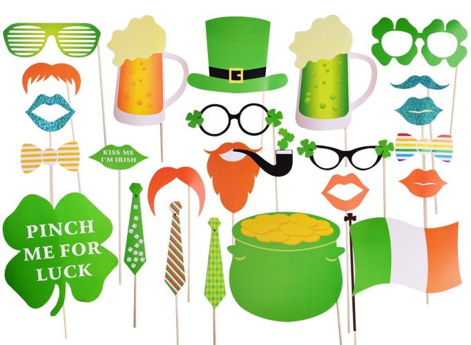 St. Patrick's Day Drink & Food Hashtags + Photo Props