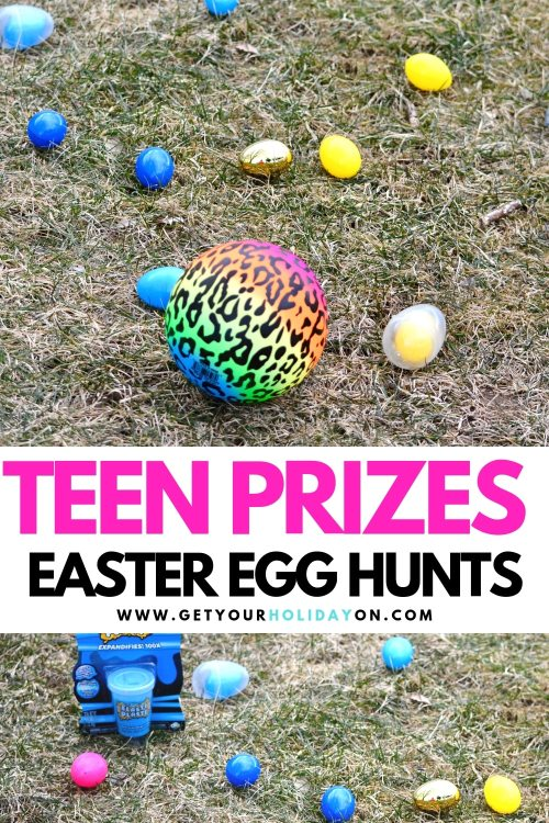 Teen Easter Egg Hunt Prizes that will knock it out of the park! #easter #eastereggfillers #eggs #momlife