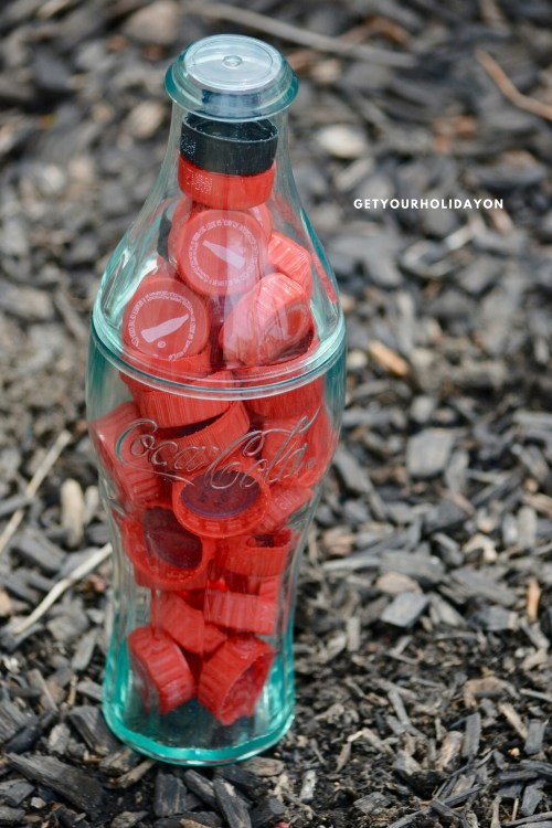 Guess How Many Bottle Caps | A Coca Cola Game #coke #game #party #bottlecaps