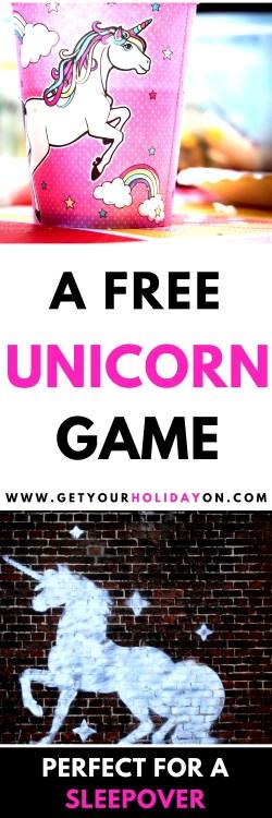 This hilarious Would You Rather Unicorn Questions! game is FUN! #DIY #unicorn #unicorntribe #unicornhair #sleepover