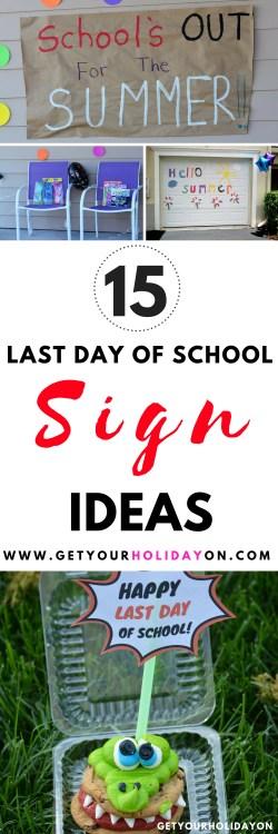 Last Day of School Signs #signs #lastdayofschool #parenting #momlife