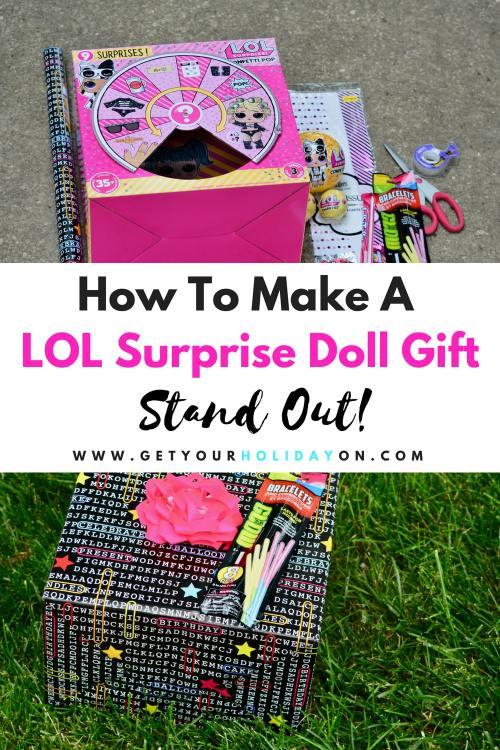 LOL Surprise Doll Gift for Girl #lolsurprisedolls #toys #birthday #diygift
