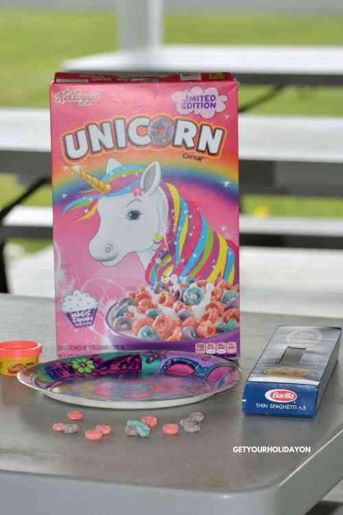 Rediscover playtime with this Minute to Win It Unicorn Ring Stack Game for kids or adults! Play inside or outdoors, at a party, in the backyard, or at a sleepover. #diycrafts #partygames #diysummer #parenting