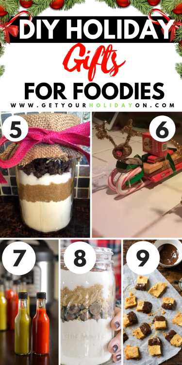 Where are my foodies at? If you are looking for ideas for a family member, co-worker, teacher, or friend? Look no further!#foodies #foodporn #food #diy
