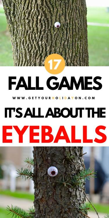 Easy 5 Minute Fall Party Games for Halloween to Play! #play #fall #diyfall #momlife