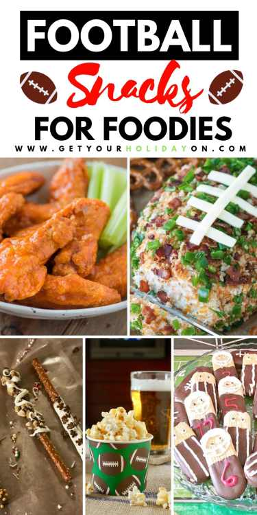 Make your own creative easy super bowl snacks in minutes! We have ideas that you could use for super bowl snacks for two, American football themed ideas, and appetizers that won't make you fumble but start the kick off with a guaranteed touchdown! #superbowl #sunday #foodie #snacks