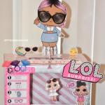 LOL doll Valentine Box | lol doll box diy | lol doll box frame #lol #loldoll #momlife #toys