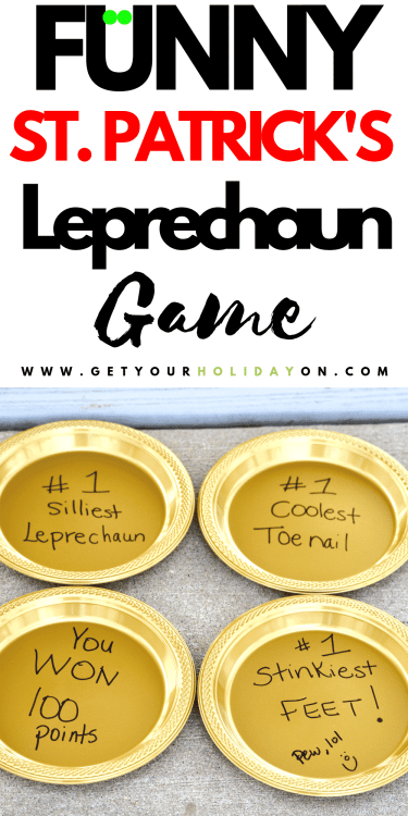 Find out what the Hilarious Leprechaun Gold game is and how to play! #party #family #momlife #kids