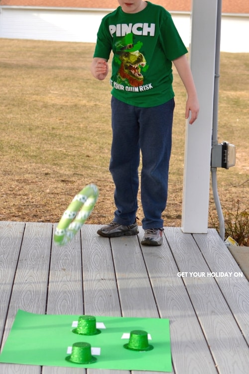 Luck of Irish Game for Kids Party #directions #play #party #stpatricksday