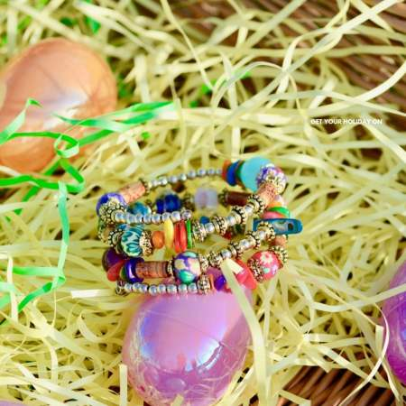 Recently, I partnered with My Good Luck Charms to bring you a review of their products! When I saw the BOHO Colorful Beaded Bracelet my mouth dropped!