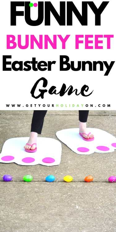 Funny Bunny Feet Game that is so hilarious for kids and adults!