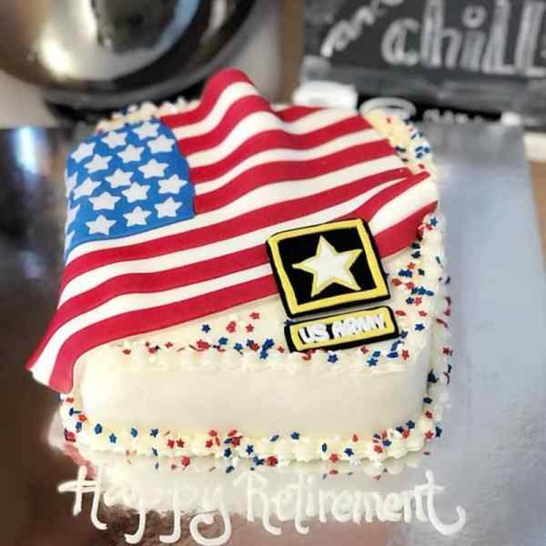 Service Member Military Themed Cake Ideas