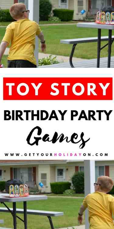 Toy Story 4 Birthday Party Games for Kids or Adults.