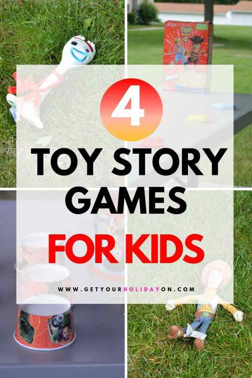 Toy Story Kid Games are a must in my house! DIY Birthday Party Toy Story Ideas!