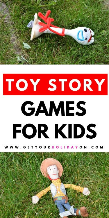 Woody and Forky Birthday Party Games for Kids.