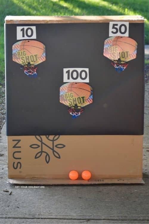 DIY Basketball Game for Kids! Get a free printable!
