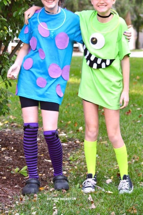 Are you ready for easy Mike and Sully Monsters Inc Costumes? If you are a Disney fan. You'll love our good friend James P Sullivan and Mike Wazowski costumes.