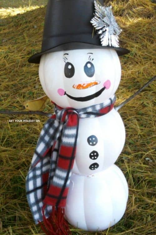 How to create a snowman project! #recycle #holiday #DIYs
