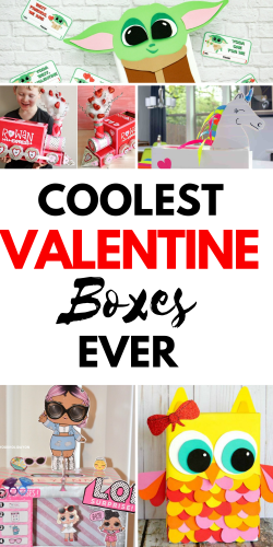Cassie loves this roundup and she thinks other mom's will too! Do you have a child that needs a Valentine's Day box for school? Find easy, crafty, and unique ideas now! Plus, free printable too!