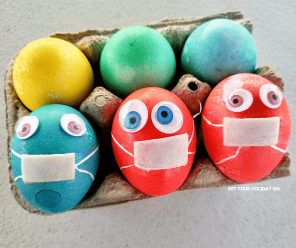 Social distancing food ideas for families. #eggs #Easter #foodie