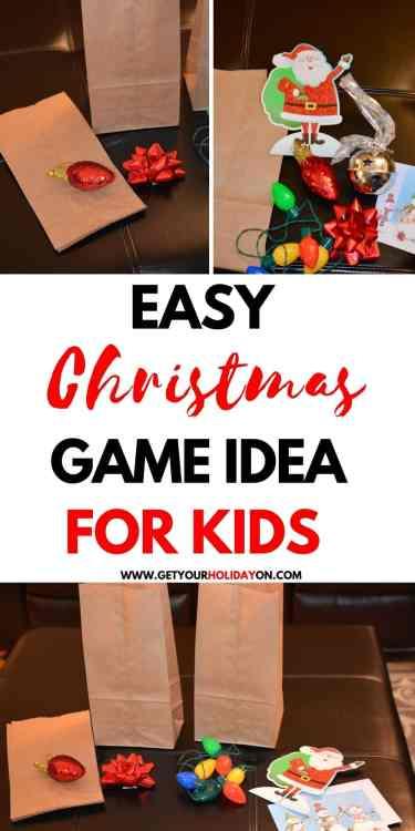 what to put inside bags for Christmas games! #santa #giftbows #snowman #jinglebells