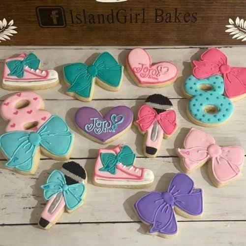 Jojo fan cookies