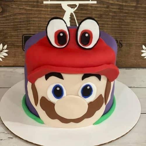 Mario Odyssey cake