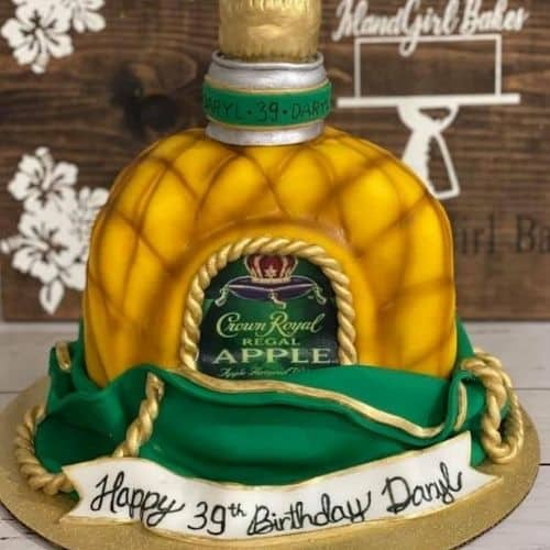 crown royal bday cake