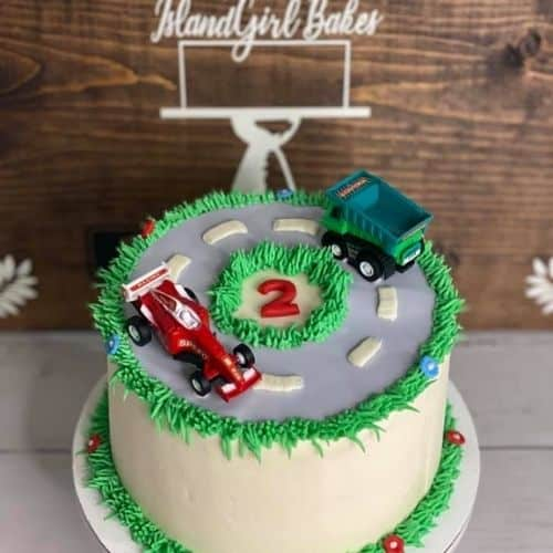little boy car cake idea