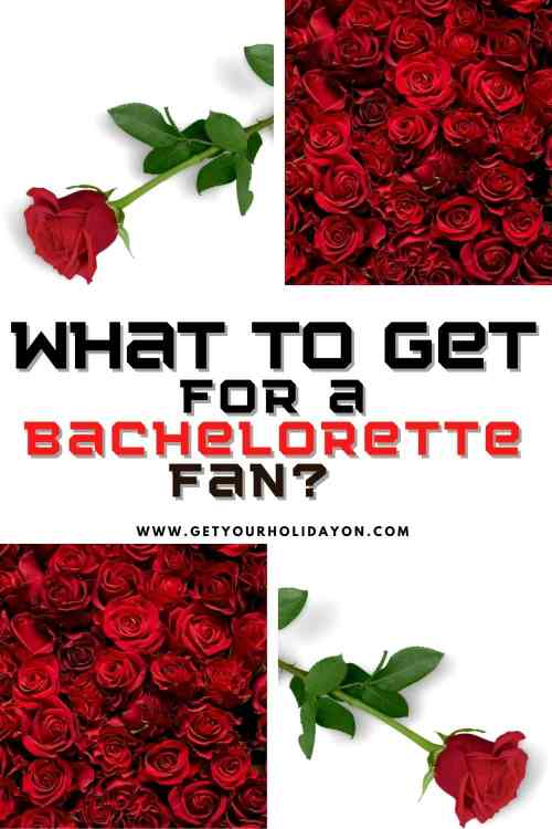 what to get a bachelorette fan for a gift idea. Pictures of roses.